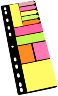 Набор липких закладок на перфорации: 5 закладок, 4 вида липких блоков по 25 листов beibehang mediterranean blue living room bedroom 3d wallpaper wood vertical stripes retro wallpaper for walls 3 d papier peint