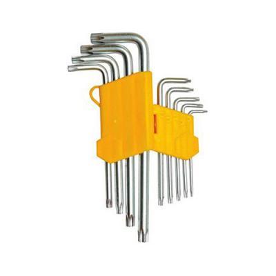 Набор ключей SKRAB 44715 TORX T10-T50, 9шт. набор г образных ключей torx с отверстием t10 t50 9шт king tony 20419pr