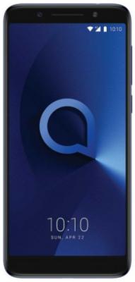 Смартфон Alcatel 3X 5058I 32 Гб синий металлик 5058I-2BALRU1 смартфон alcatel idol 5 4g ds metal blackb 6058d