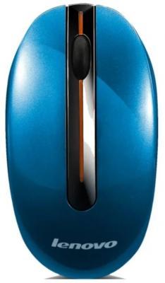 Мышь беспроводная Lenovo N3903 синий USB GX30N72249