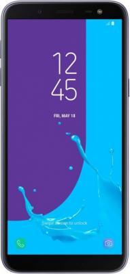 Смартфон Samsung Galaxy J6 2018 32 Гб серый SM-J600FZVGSER смартфон samsung galaxy j6 2018 черный