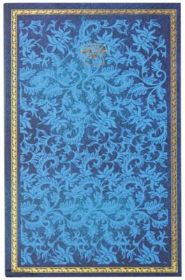 Телефонная книга 7БЦ с магнитным клапаном, синяя, выруб.,лин.,ляссе,192с.,разм.130*210мм