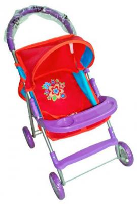 Прогулочная коляска для кукол Mary Poppins Цветочек 67124 прогулочная коляска для кукол arias т13752