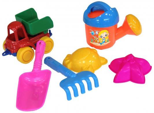 Купить Набор для песка Нордпласт № 48 6 предметов в ассортименте, Ведерки, лопатки и формочки для детей