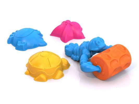 Набор для песка Нордпласт Набор для песка №129 4 предмета игрушки для песка нордпласт barbie n6