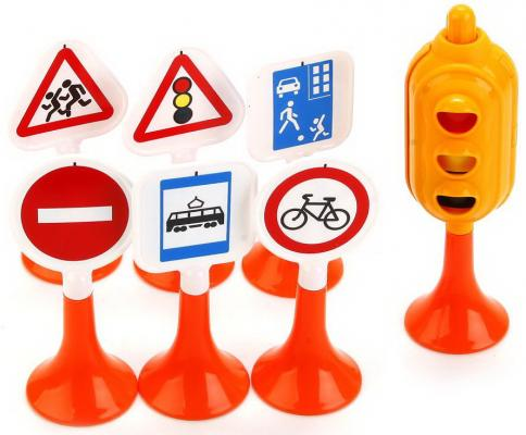 Купить Набор Нордпласт Дорожные знаки №1 6 предметов, Ведерки, лопатки и формочки для детей