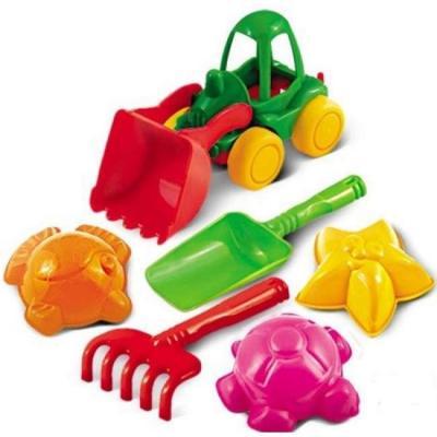 Набор для песка Нордпласт Набор для песка №40 6 предметов игрушки для песка нордпласт barbie n6