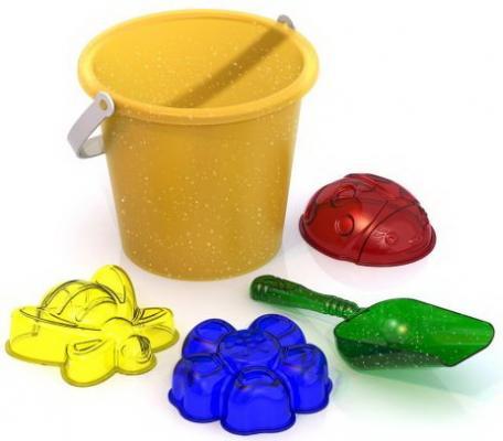 Набор для песка Нордпласт №142 прозрачный 5 предметов