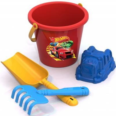 Набор для песка Нордпласт Хот Вилс 4 предмета игрушки для песка нордпласт barbie n6