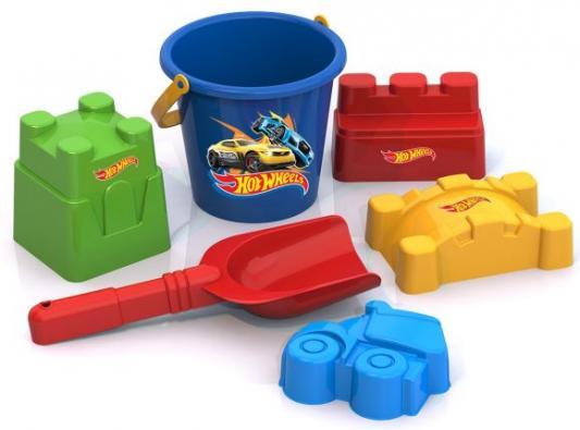 """Набор для песка Нордпласт """"Хот Вилс"""" 6 предметов игрушки для песка нордпласт barbie n6"""