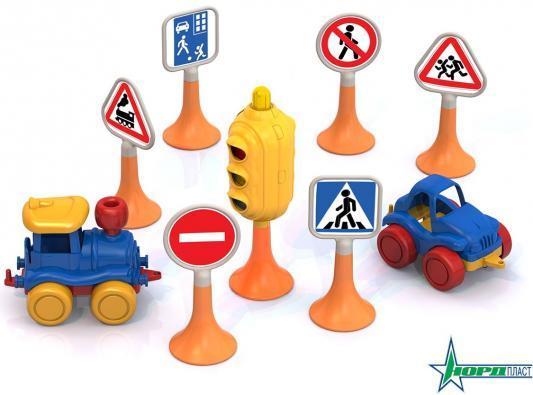 Набор Нордпласт &quot,Дорожные знаки №3&quot, 6 предметов