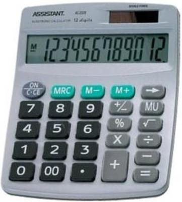 Калькулятор 12-разр., двойное питание, серебристый пластик, разм.152х120х39 мм