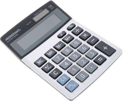 Калькулятор 8-разр., двойное питание, металл. панель, разм.138х103х27 мм|1