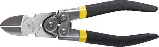 Кусачки TOPEX 32D138 боковые с шарниром 180мм кусачки topex 32d127