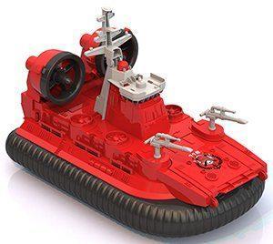 Катер Нордпласт Катер-амфибия на воздушной подушке Пожарный красный 294 игрушка нордпласт пожарный 294