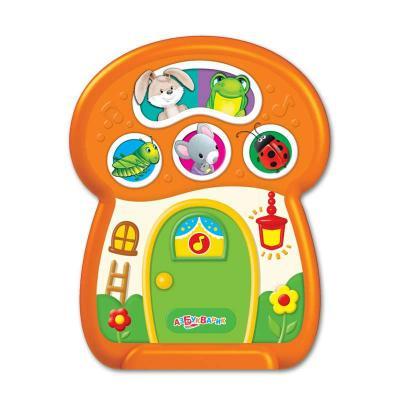 Интерактивная игрушка АЗБУКВАРИК Чудо-грибок от 1 года интерактивная игрушка азбукварик колобок от 1 года