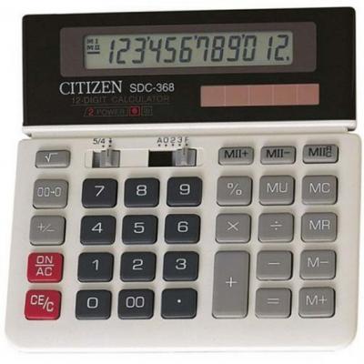 Калькулятор настольный , 12 разр., дв. питание, две памяти, серый, разм.152х152х27 мм калькулятор настольный casio gr 12c lb голубой 12 разр