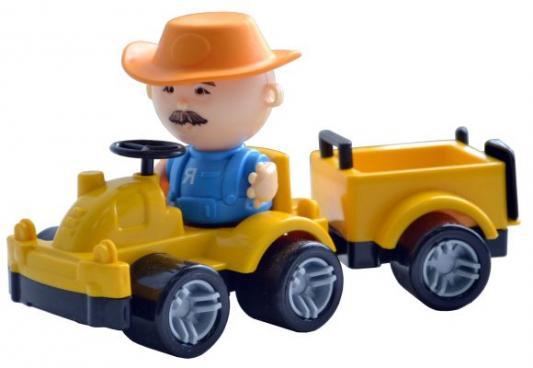 Трактор Форма Минитрактор желтый С-185-Ф