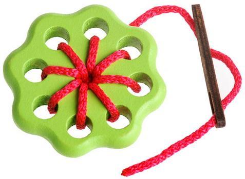 Шнуровка Цветок 1, 3 дет. сортер томик веселые фигурки 13 дет 968