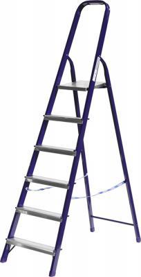 Лестница СИБИН 38803-06 стремянка стальная 6ступеней 124см стремянка стальная алюмет 10ст вес 10 2кг hраб 4 1м 2 90м