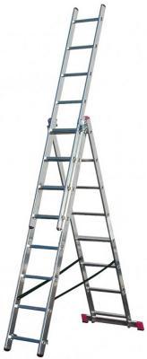 цена на Лестница KRAUSE CORDA KS-010360 3х6 универсальная рабочая высота 4.55м