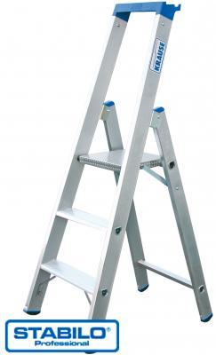 Стремянка KRAUSE STABILO KS-124500 3 ступени раб. высота 2.7м стремянка krause safety 4 ступени