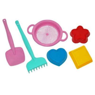 Набор для песка Тигрес Набор для песка 6 предметов игрушка тигрес лейка 39189
