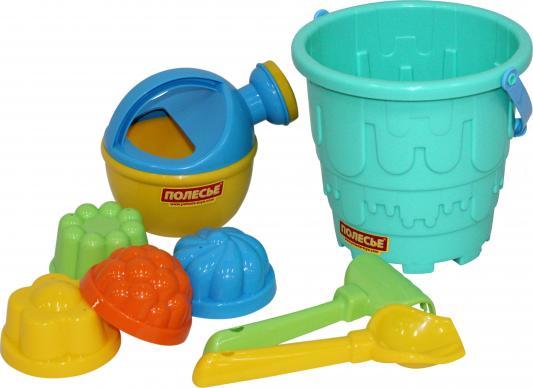 Набор для песка Полесье Набор для песка №521 8 предметов игрушки для песка полесье 455 с тачкой полесье