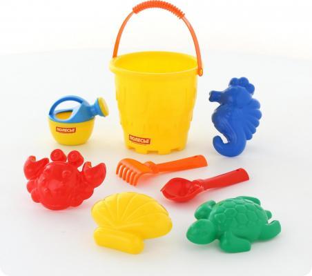Набор для песка Полесье Набор для песка №530 8 предметов игрушки для песка полесье 455 с тачкой полесье