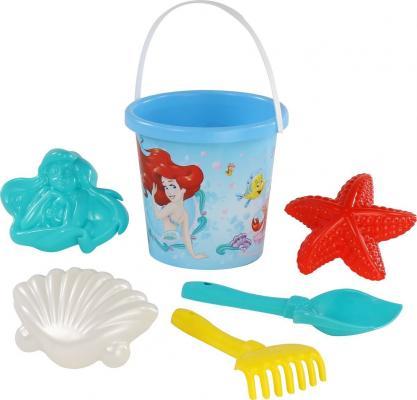 Набор для песка Полесье Русалочка №2 6 предметов игрушки для песка полесье 455 с тачкой полесье