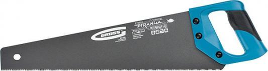 Ножовка GROSS 24107 PIRANHA  500мм  11-12 зубьев на дюйм, по дереву, трехгранная заточка зубьев