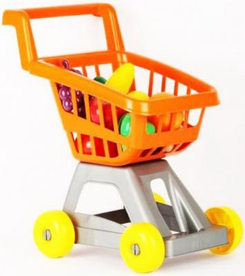 Тележка для супермаркета с фруктами и овощами тележка совтехстром тележка для супермаркета 4607056794677