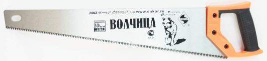 цены на Ножовка ЭНКОР 9860 500мм Волчица закаленный зуб  в интернет-магазинах