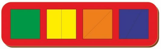 Рамка вкладыш Woodland Сложи квадрат от 3 лет рамка вкладыш woodland 011103 ёжик