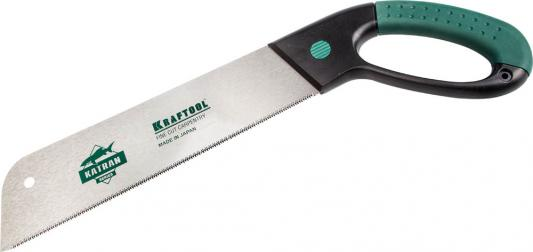 Ножовка KRAFTOOL 1-15181-38-10 fine cut carpentry по дереву 10 tpi 380мм термометр der ee tpi 306c tpi 306c