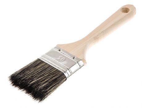 Кисть для антисептиков Hammer Flex 237-013 50х14 (дерев. ручка) кисть для эмалей hammer flex 237 021 50 14 дерев ручка проф
