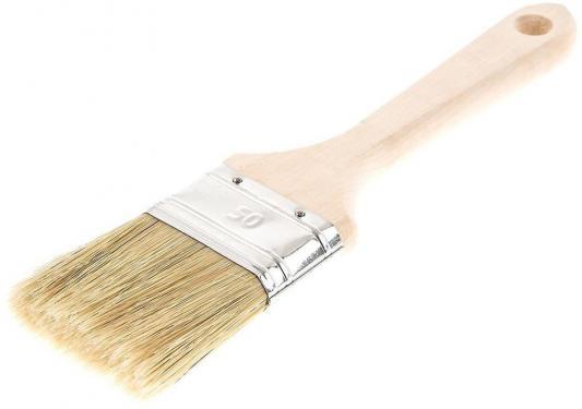 Кисть для водных красок Hammer Flex 237-002 50*14 (дерев.ручка) шкурка шлифовальная в рулоне hammer flex 216 002