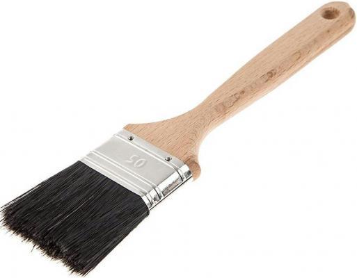Кисть для эмалей Hammer Flex 237-021 50*14 (дерев.ручка) ПРОФ. кисть для эмалей hammer flex 237 021 50 14 дерев ручка проф