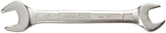 Ключ NORGAU 060107244 N6-27x32 рожковый двусторонний ключ norgau 060107271 36мм 41мм рожковый двусторонний cr v n6 36x41