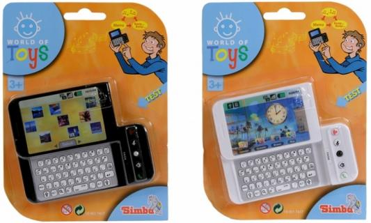 Телефон SIMBA 4517417 в ассортименте погремушки simba букашка прорезыватель