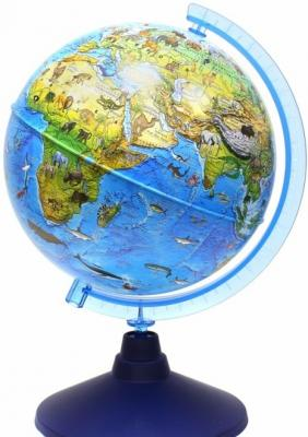 Купить Глобус Зоогеографический (Детский), D-210 мм, Globen, унисекс, Игровые наборы Юный мастер