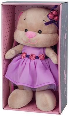 Мягкая игрушка зайка в фиолетовом платье Jack Lin JL-021-25-КСО 25 см gold plated banana plug jack connector set golden 3 5mm 10 pairs