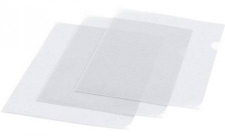 Папка-уголок, ф. А4, прозрачная, материал ПВХ, плотность 200 мкр., цена за 1 шт. вкладыш уголок с перфорацией leitz combifile ф а4 5 шт 200 мкм синий 47260035