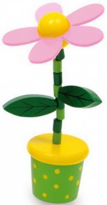 Купить Интерактивная игрушка Mapacha Танцующий цветочек от 3 лет 76685, разноцветный, 12 см, дерево, унисекс, Игрушки со звуком