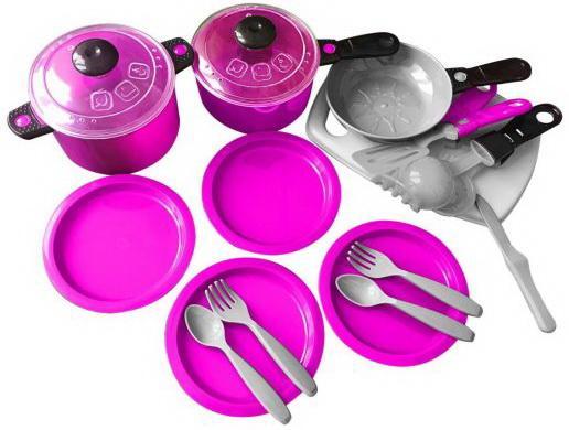 Набор посуды Ириска-3, 23 предмета набор детской посуды loraine собачка 3 предмета розовый