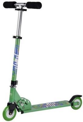Самокат X-Match City Line 100 мм зеленый 641093 самокат x match city line 100 мм зеленый 641093