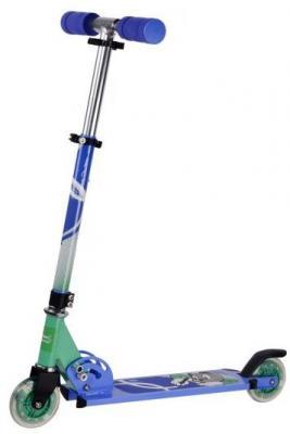 Самокат X-Match Cool Cat 100 мм синий 641096 самокат x match city line 100 мм зеленый 641093