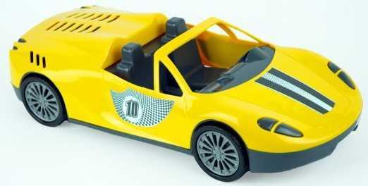 Автомобиль zebratoys Кабриолет цвет в ассортименте 15-11161 лопата zebratoys двухцветная 66 см в ассортименте