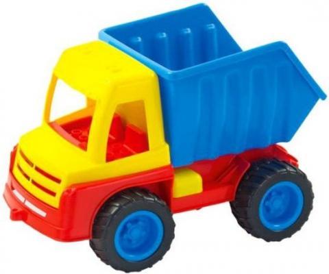Функциональная машинка zebratoys Самосвал с резиновыми колесами синий 15-10827Р zebratoys самосвал большой цвет красный желтый