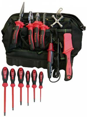 Набор инструментов HAUPA 220510 13 предметов круглогубцы vde 160мм haupa 211216